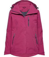 stadt 2-layer technical jacket outerwear sport jackets rosa skogstad