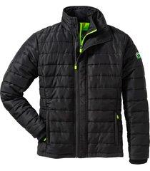 giacca trapuntata con dettagli a contrasto (nero) - bpc bonprix collection