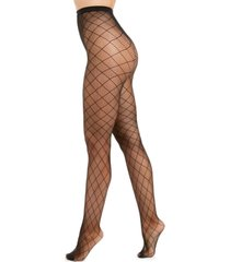 i.n.c. women's diamond-fishnet tights, created for macy's