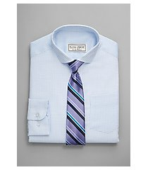 1905 collection boys classic fit spread collar dress shirt & stripe tie set, by jos. a. bank