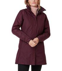 women's helly hansen aden hooded insulated rain jacket