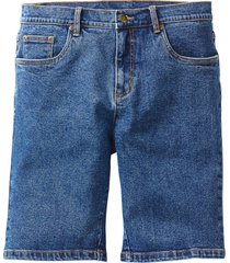 jeansbermudas i stretch, classic fit