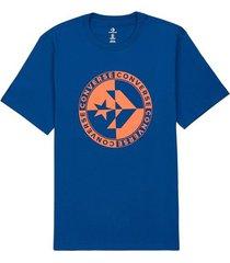 t-shirt korte mouw converse 10018875-a03