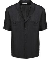 zijde voile overhemd