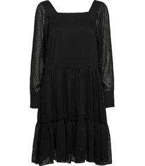 lula dress dresses cocktail dresses svart just female