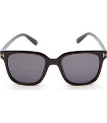 gafas marco cuadrado negro color negro, talla uni