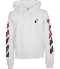 off-white marker slim hoodie