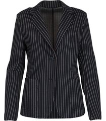 max mara studio viscose stretch blazer