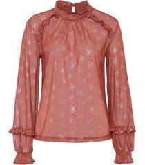 maglia in fantasia lucida (rosso) - bodyflirt