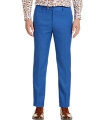 paisley & gray slim fit suit separates slacks french blue
