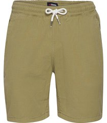 drawstring organic short shorts casual grön denim project