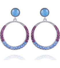 nanette nanette lepore extra celestial front facing hoop earrings