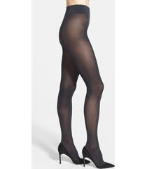 women's wolford pure 50 tights, size x-small - black