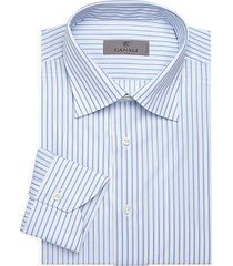 tonal stripe dress shirt