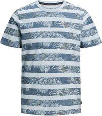 t-shirt botanisch blauw