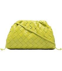bottega veneta the mini pouch bag - green