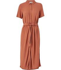 skjortklänning pccecilie ss long dress