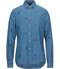 outfit denim shirts