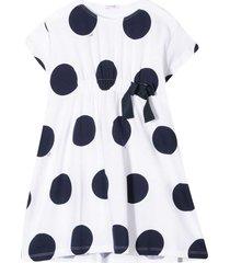 il gufo polka-dot dress