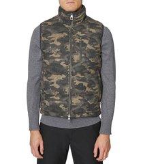 men's hickey freeman camo quilted vest