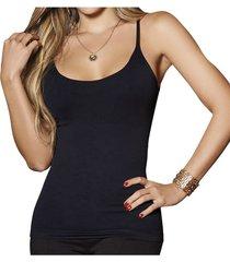 blusa alyna negro  para mujer croydon
