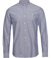 andré button down shirt overhemd business blauw morris