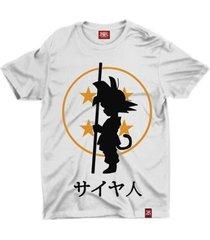 camiseta anime dragon ball son goku - unissex