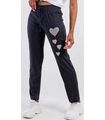 pantalon jogging azul marino night concept