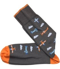 johnston & murphy vintage-like planes socks