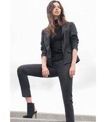eleganckie spodnie w kant laura
