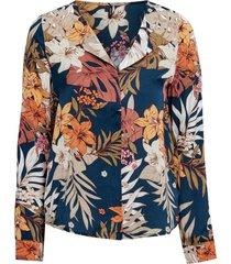 blus vmivy flower ls shirt