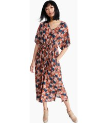 gracemade beloved printed crepe dress