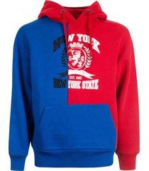 tommy hilfiger color block hoodie