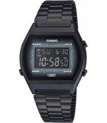 reloj casual negro casio