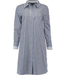 jurk long shirt tunique wit