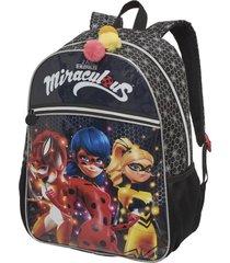 mochila costas miraculous girls - pacific