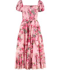 loveshackfancy masie printed cotton dress