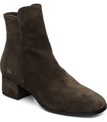 booties 95500 shoes boots ankle boots ankle boots with heel grön carla f