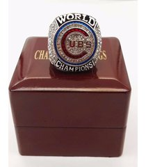 2016 chicago cubs baseball world series championship ring with wooden box