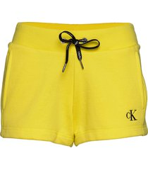 ck embroidery regula shorts flowy shorts/casual shorts gul calvin klein jeans