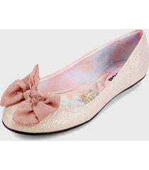 baleta rosa-multicolor moleca