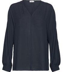 riley blouse blouse lange mouwen blauw filippa k