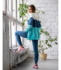 bluza 3 kolory rozsuwana jeans