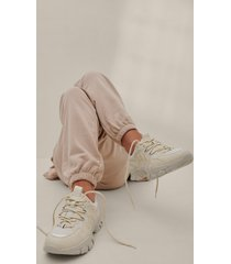 na-kd shoes trekking sole sneakers - offwhite
