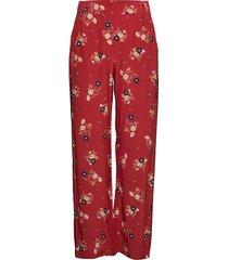 velua trousers vida byxor röd second female