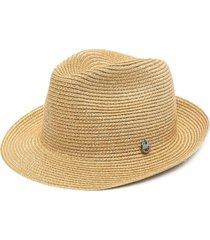 catarzi ribbed sun hat - neutrals