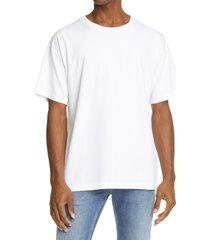 men's john elliott university men's oversize t-shirt, size xx-large - white
