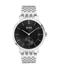 relógio hugo boss masculino aço - 1513641
