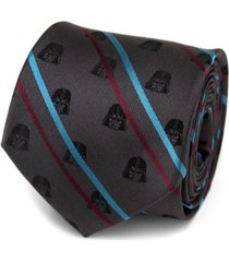 star wars darth vader striped men's tie