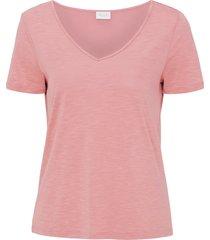 topp vinoel s/s v-neck t-shirt fav